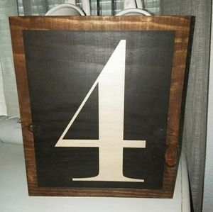 Other - Handmade wooden sign